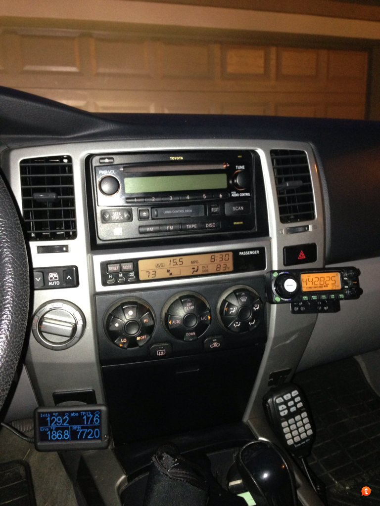 Show me your Ham Radio Mountings! - Toyota 4Runner Forum