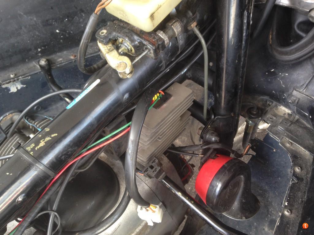 Generator ladda inte nar den blir varm