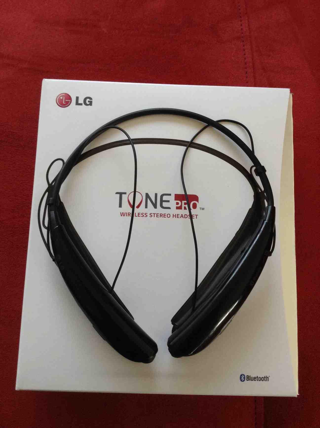 Lg Tone Pro Bluetooth Headset Bem Wireless Mobile Speaker