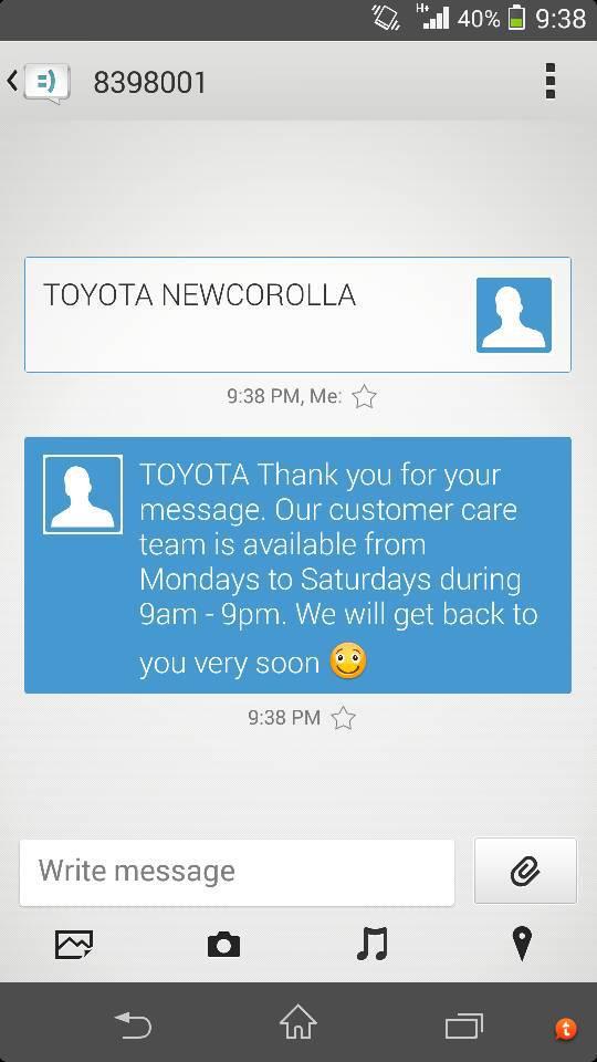 New Corolla launch by Toyota Indus Motors. - nutujuzy