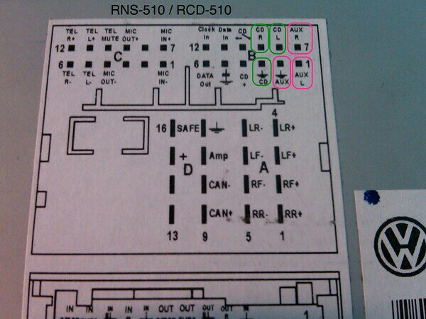 yhu9u2yb vwvortex com diy oem ipod dock to aux in rcd 510 wiring harness at cita.asia