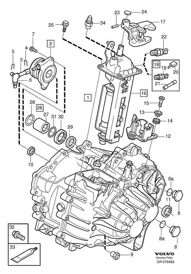 drive shaft to transmission seal oil leak | SwedeSpeed - Volvo Performance  Forum | Volvo Transmission Diagrams |  | SwedeSpeed