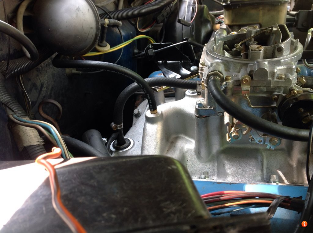 Vacuum Lines With Edelbrock 1406 And 2131 Full Size Jeep Network