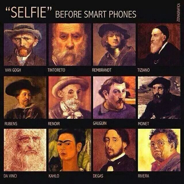 y9uhatys - Selfie Before Smartphones - Technology