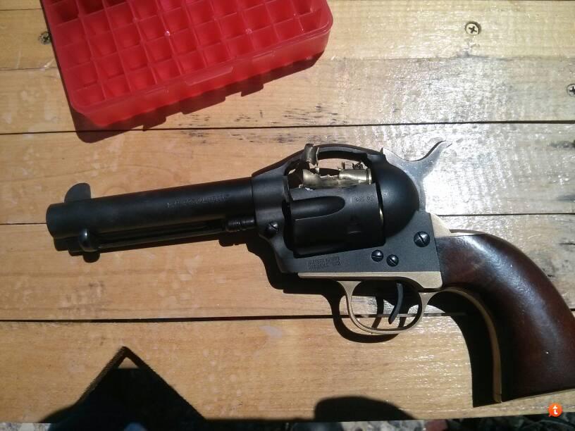 Scored a Uberti 45 Colt