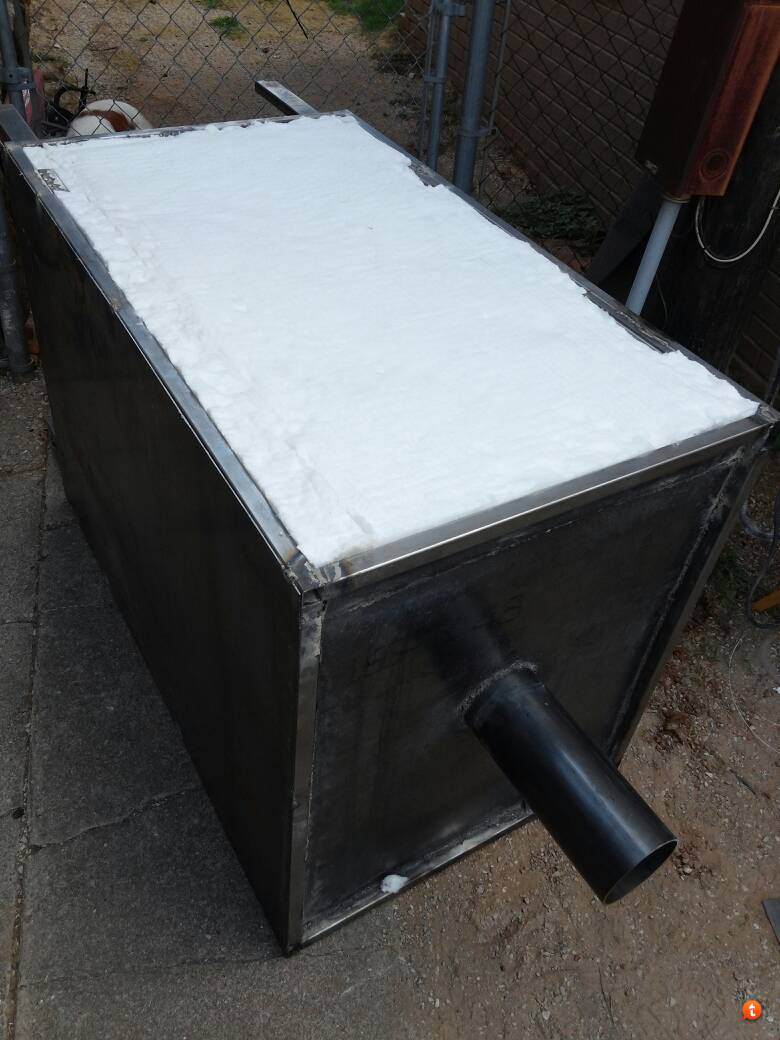 Vertical insulated smoker - The Texas BBQ Forum