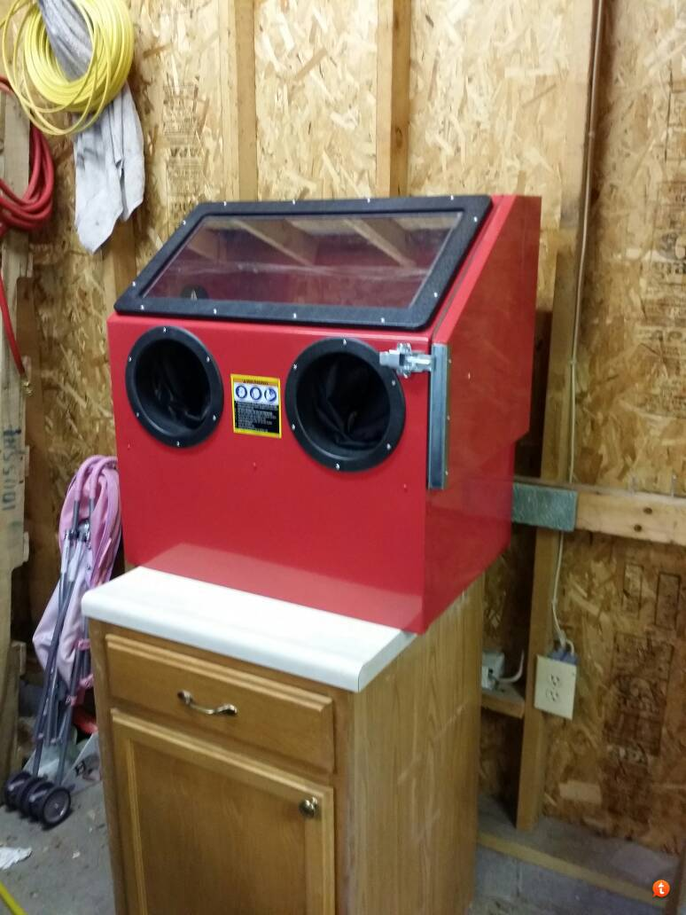 Sent from my Galaxy Note 3 using Tapatalk & Got a blast cabinet - The Garage Journal Board
