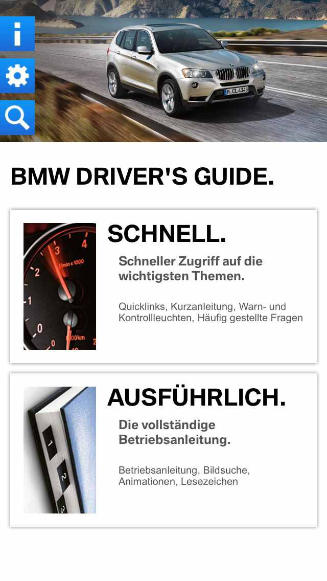bmw driver's guide - apple app
