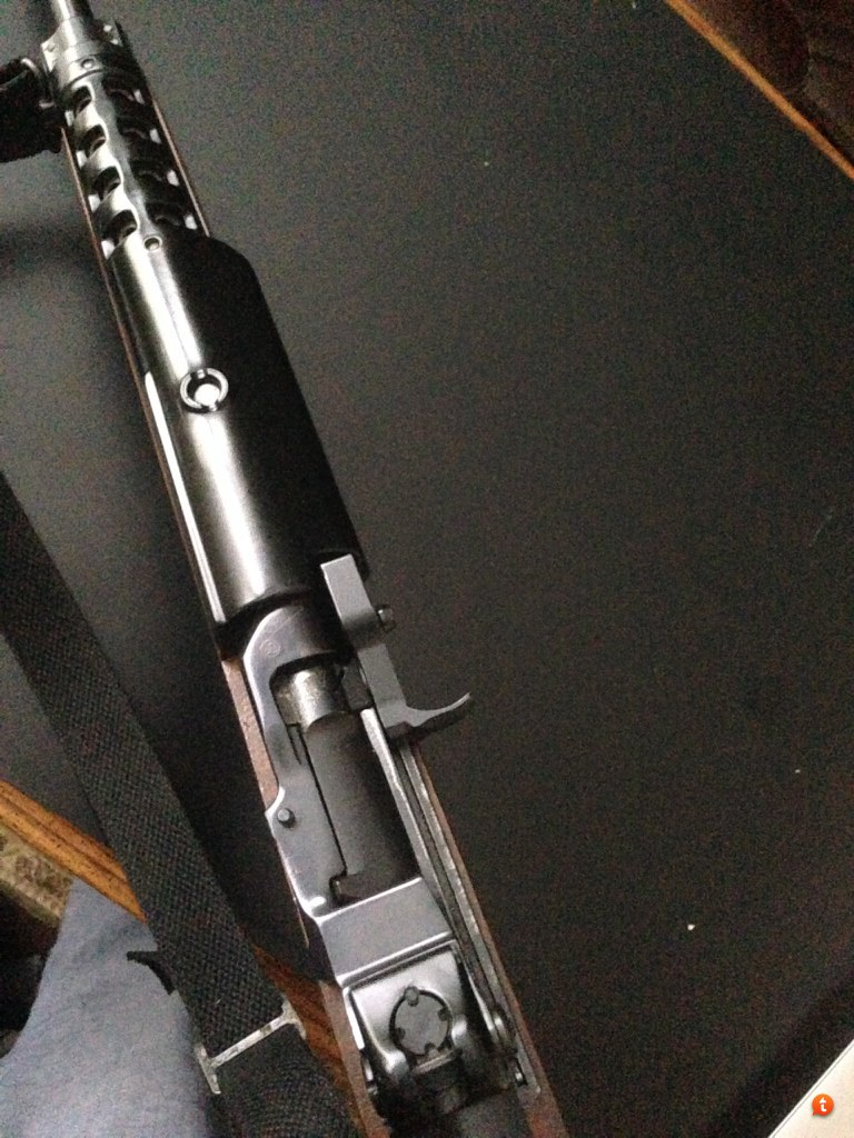 RUGER MINI 14 SCOPE MOUNT WITH 1 LOW RINGS TOP QUALITY GENUINE B SQUARE