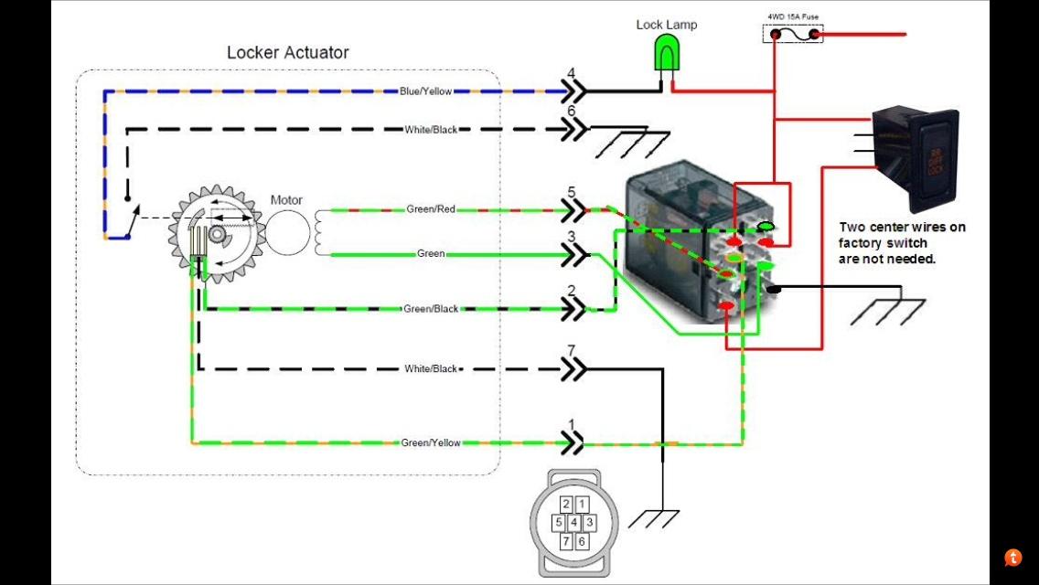 e locker wiring toyota 4runner forum largest 4runner forum rh toyota 4runner org Engine Wiring Harness Dodge Wiring Harness