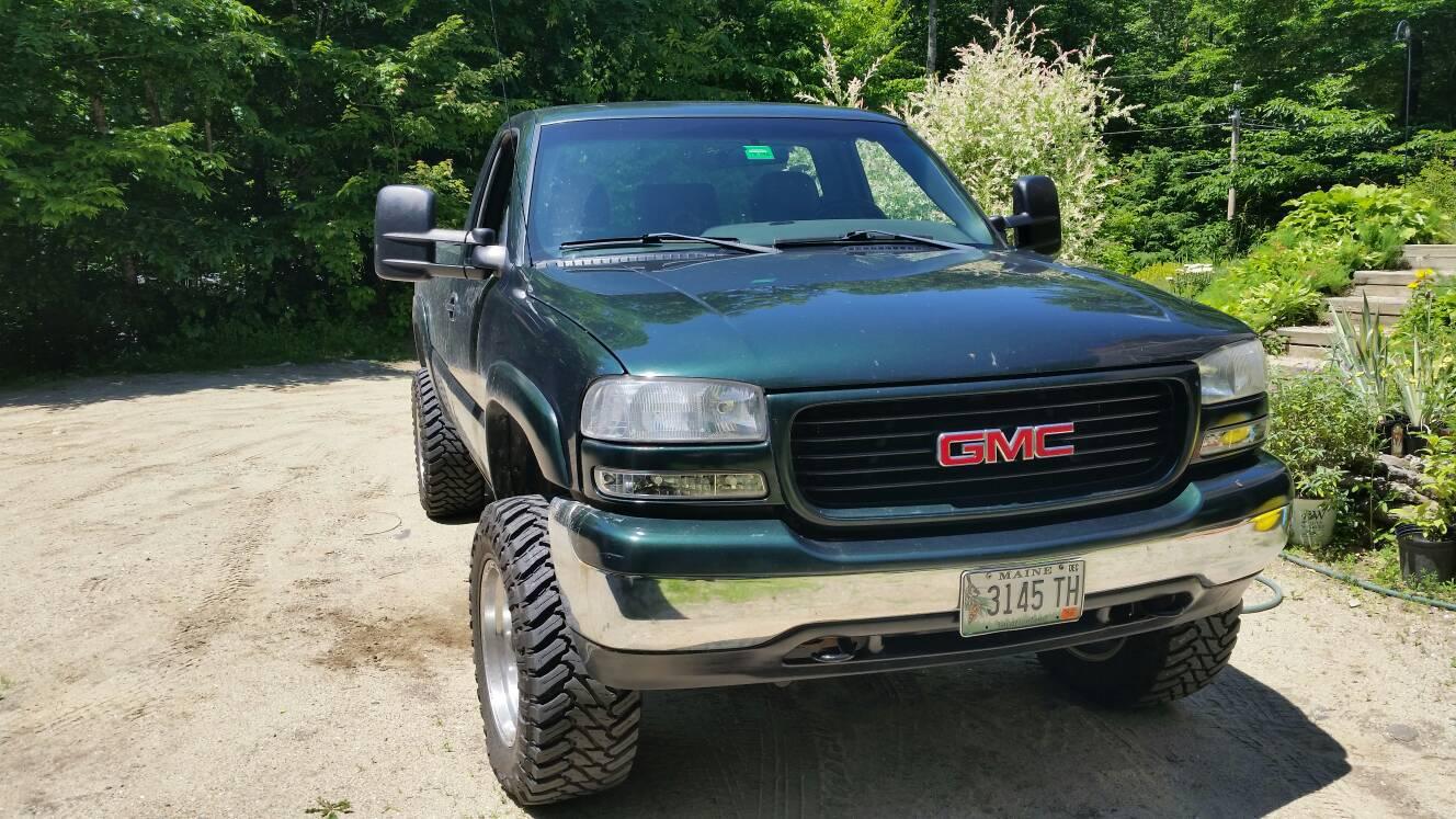 Build A Gmc Truck >> My New Build Need Help With Ideas 2001 Gmc Sierra 1500