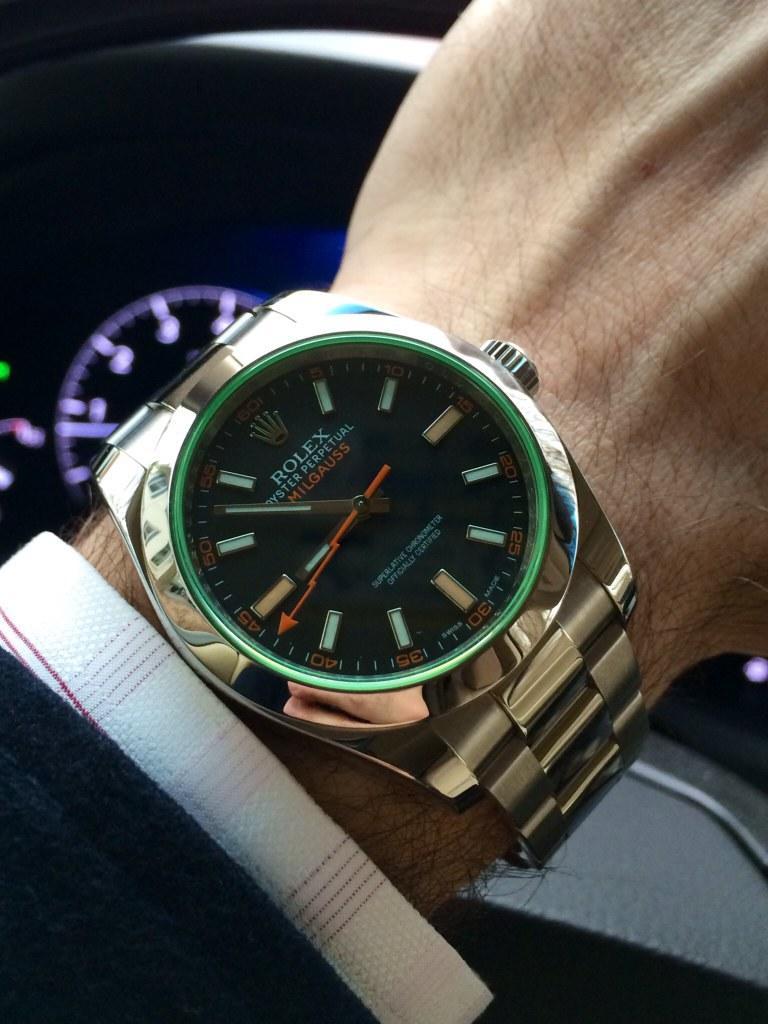 Rolex Milgauss Gv