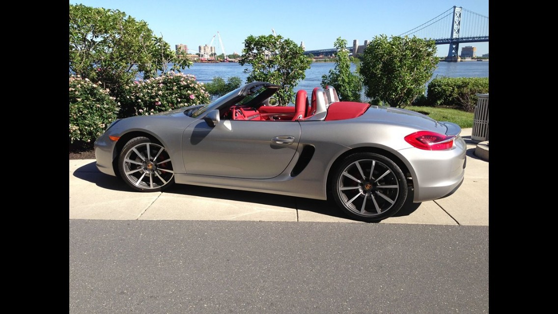 my buddy has a boxster s silver red with 20 turbo rims