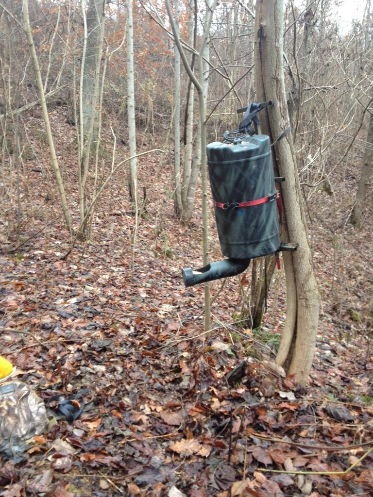 Barrel deer feeder | Kentucky Hunting