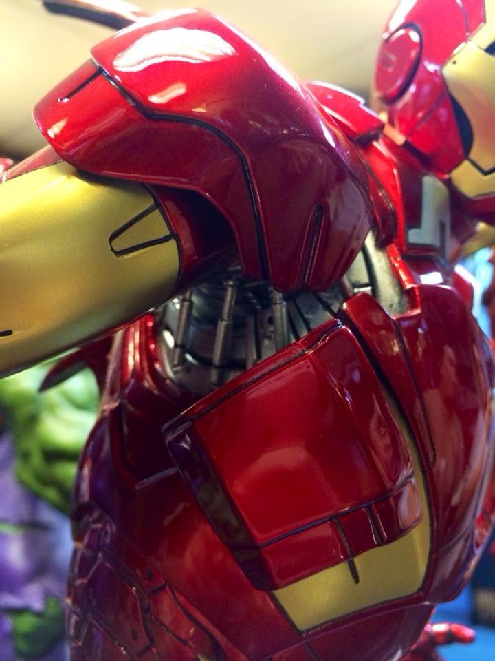 Premium Collectibles : Iron man MK VII 3aramasy