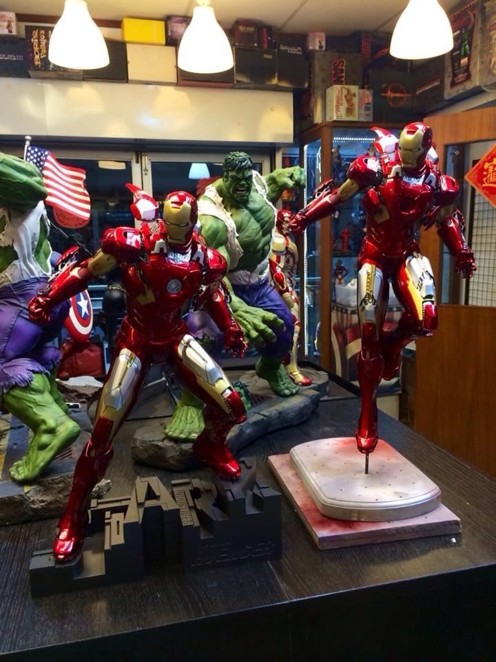 Premium Collectibles : Iron man MK VII Gegu2ene