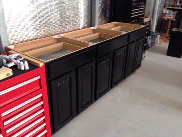 Garage cabinet paint schemes... - The Garage Journal Board