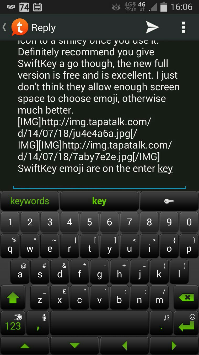 Phone Emoticons Android Phone where are the emoticons on samsung keyboard android forums swiftkey emoji enter key