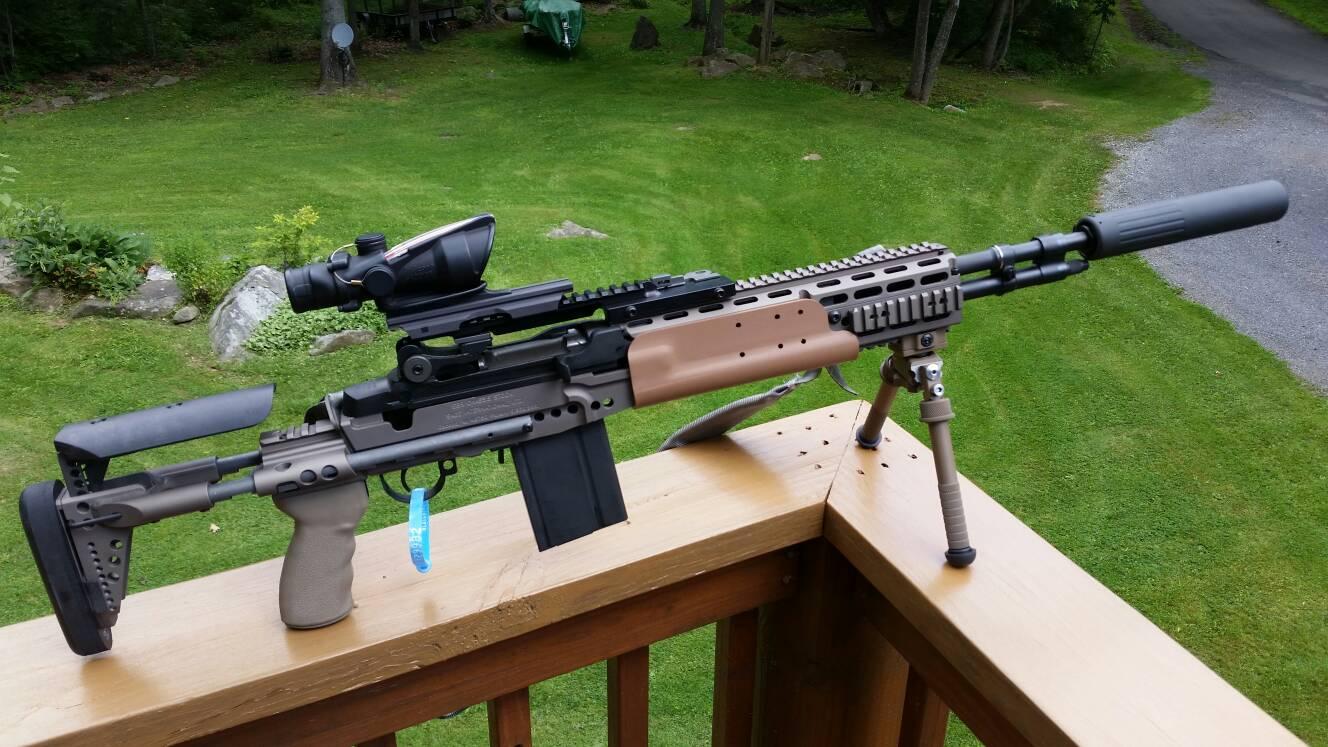 Springfield M1A into a precision rifle   possible