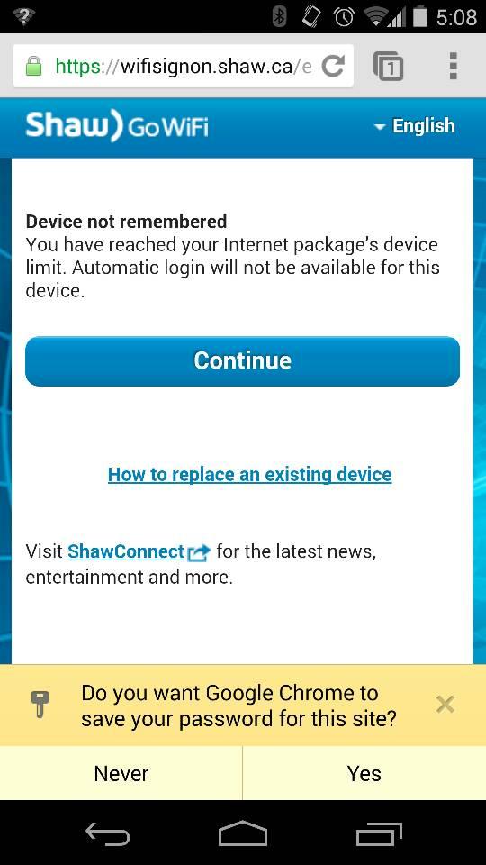 shawpasspoint wifi login