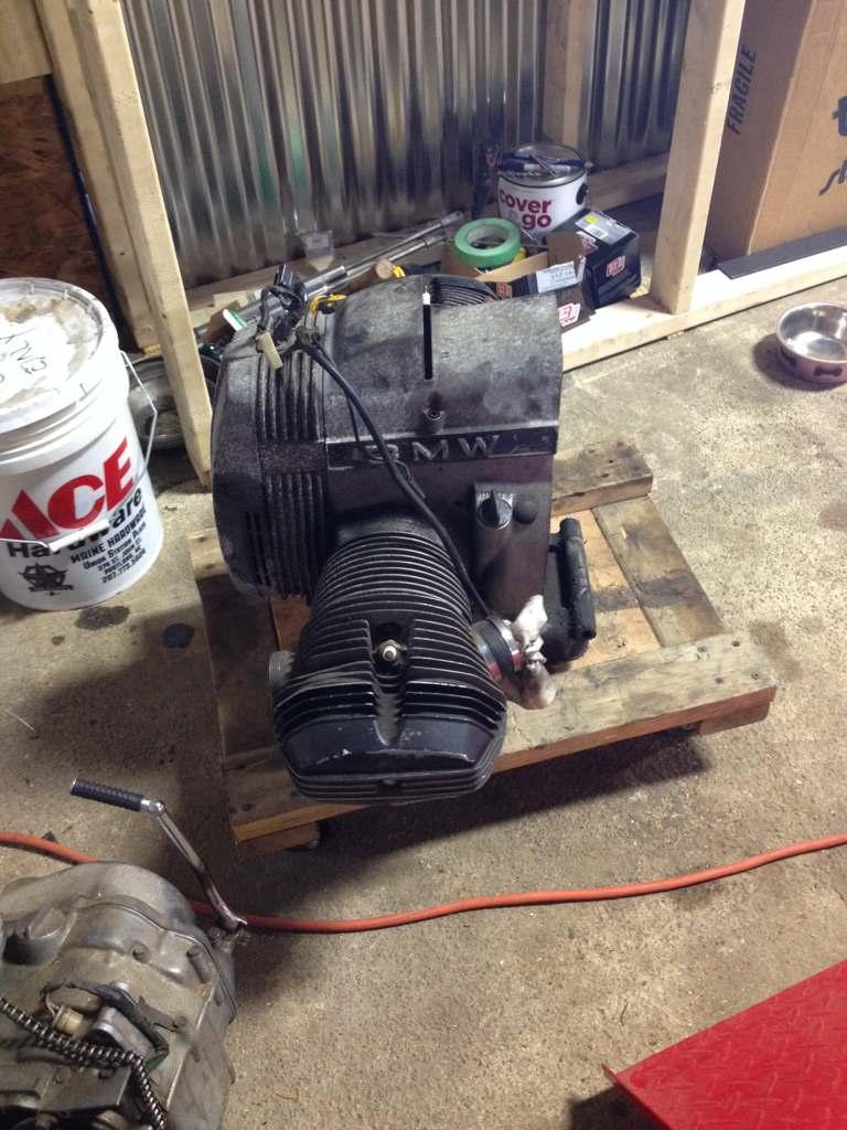 Ural: BMW motor swap and build