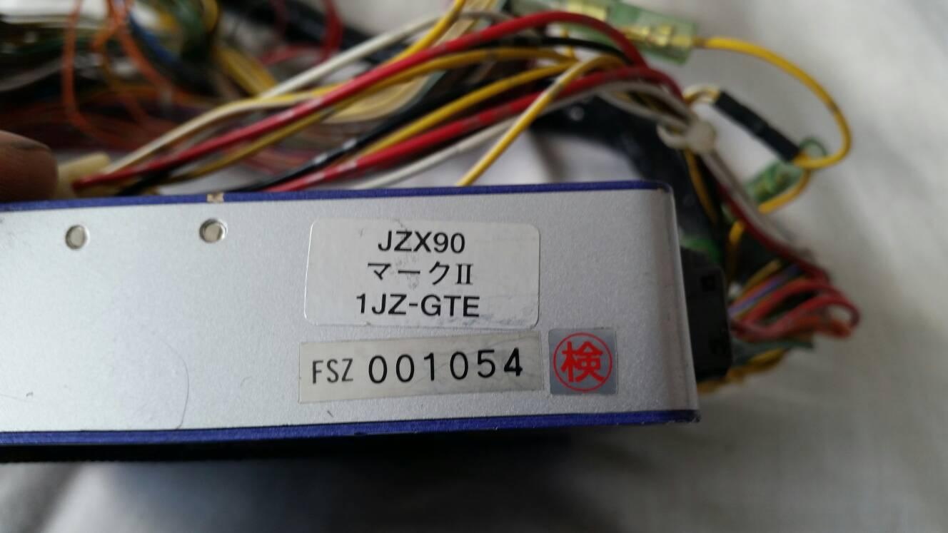 Jzx90 1jzgte hks fcon with harness , 1jzgte 550cc injectors