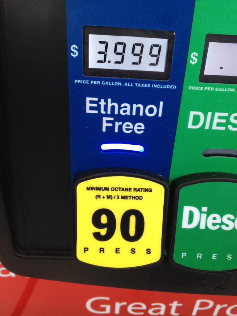 Non Ethanol Gas Near Me >> Non Ethanol 90 Racetrac On Alico 3 99 Florida Sportsman