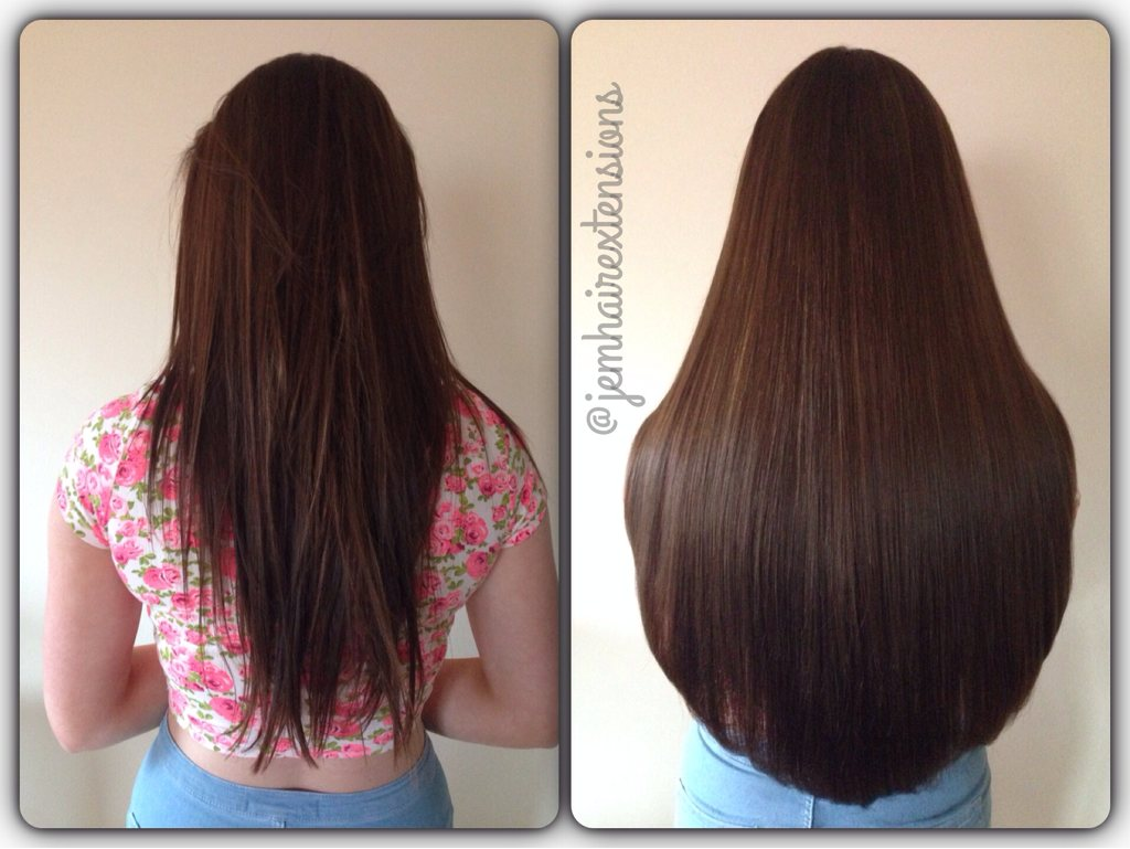 Before and after hair extensions page 111 salongeek 150g double drawn brazilian weave pmusecretfo Image collections