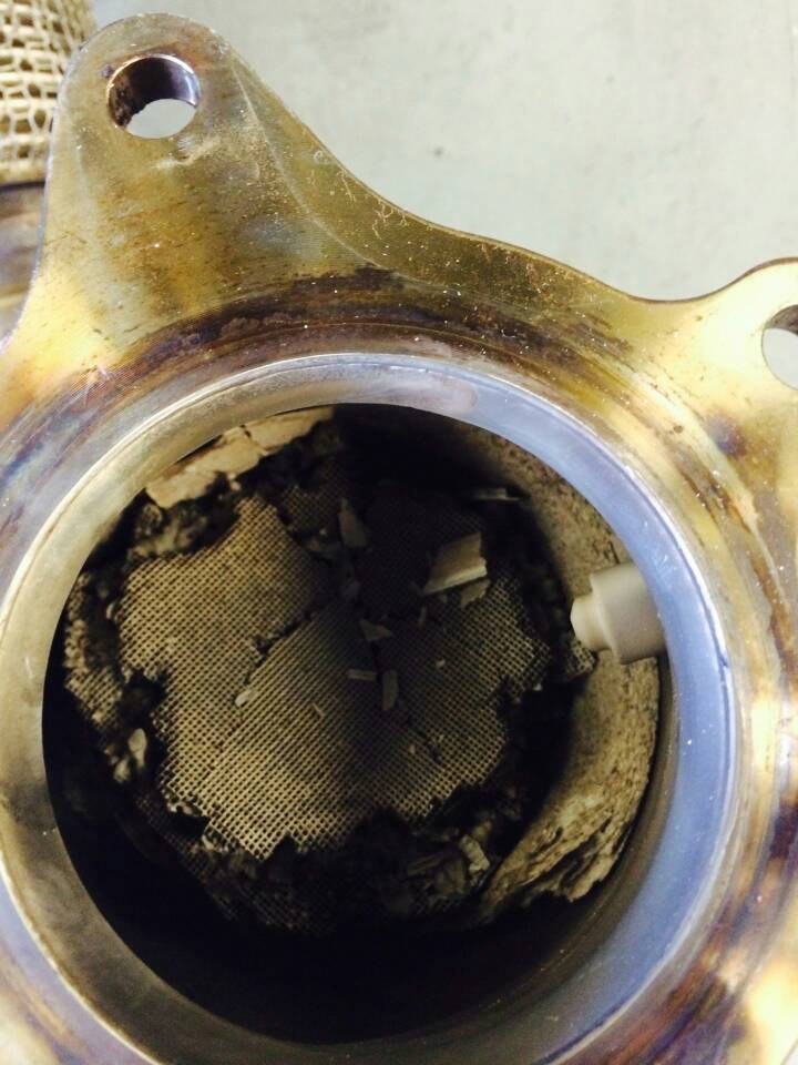 Sorry I Was Out Of Town The Last Days Got Car From Dealer They Found That Catalytic Converter Element Had Disintegrated