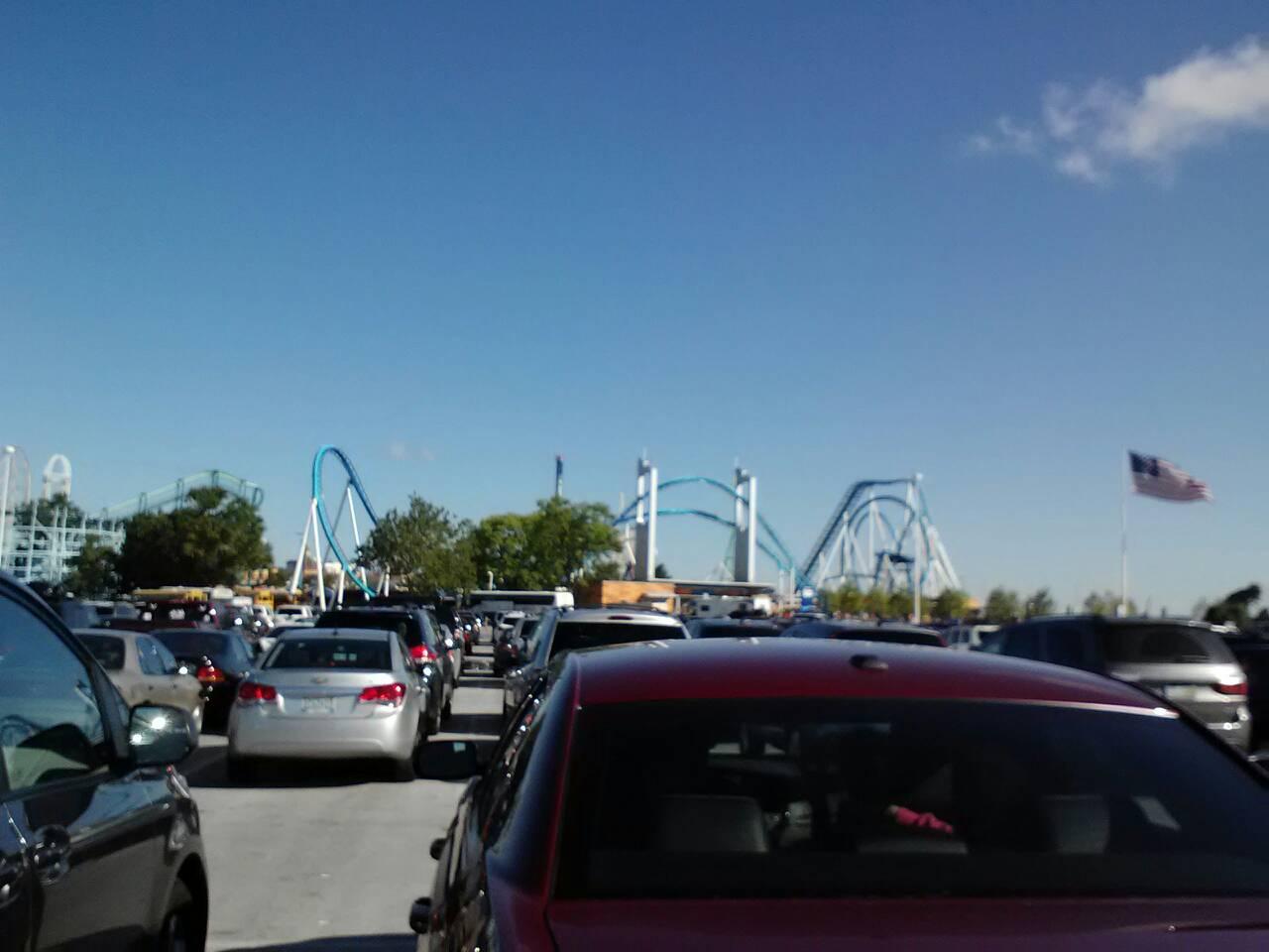 Cedar Point and Six Flags America- Closed Coasters, 1 Train