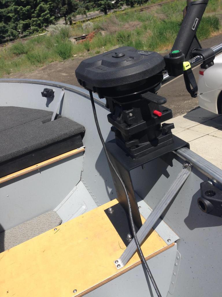 Need help/advice for 14' Harbercraft fishing setup