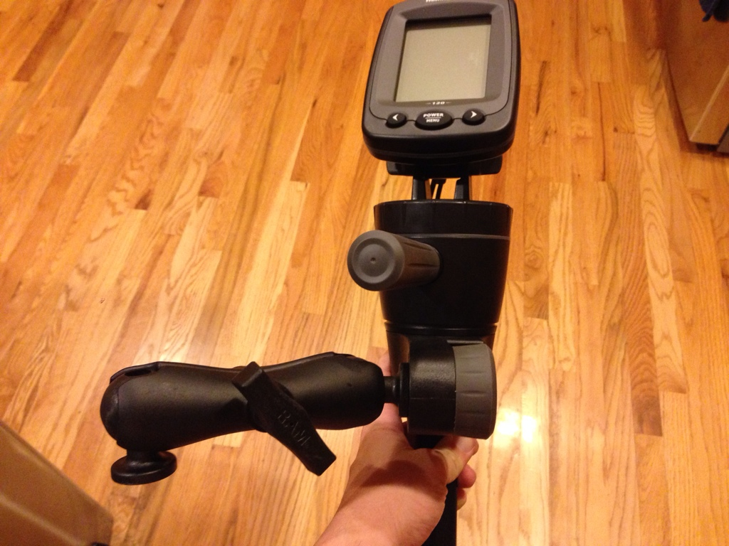 hobie forums • view topic - fish finder mount, Fish Finder