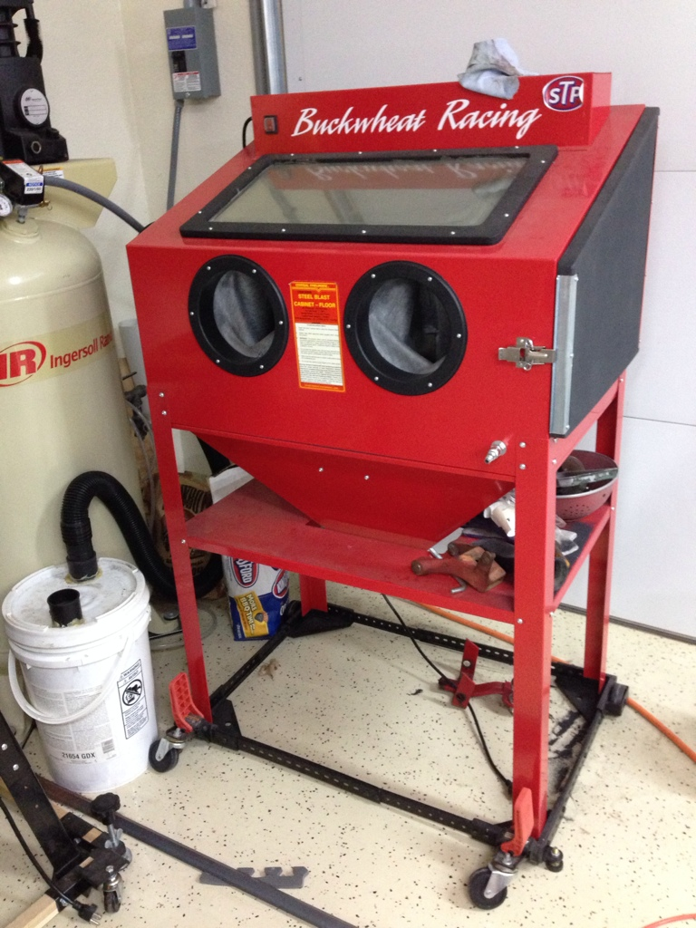 Harbor Freight Blasting Cabinet. - Restorations, Modifications ...