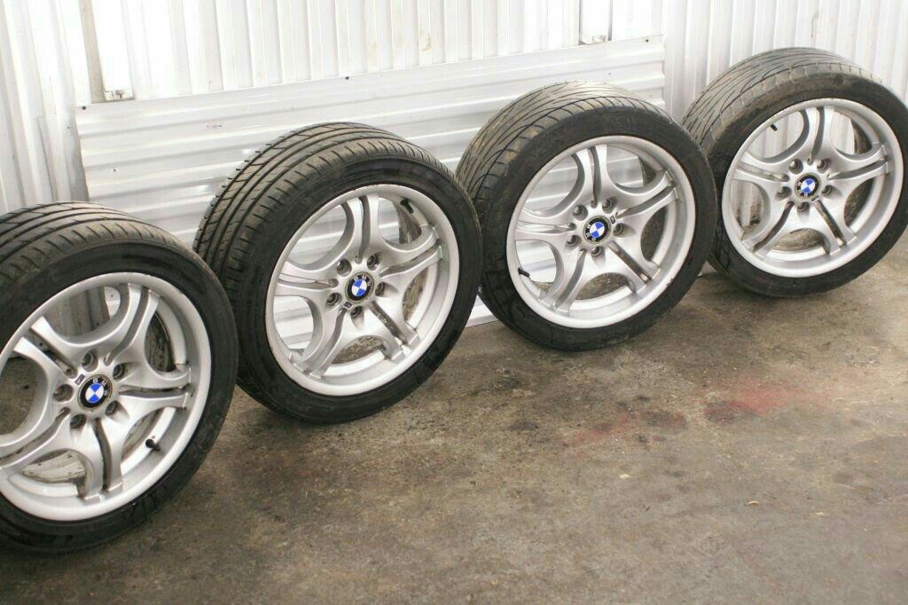 E46 On 17inch Alloys Wheels And Tyres E46 E46zone