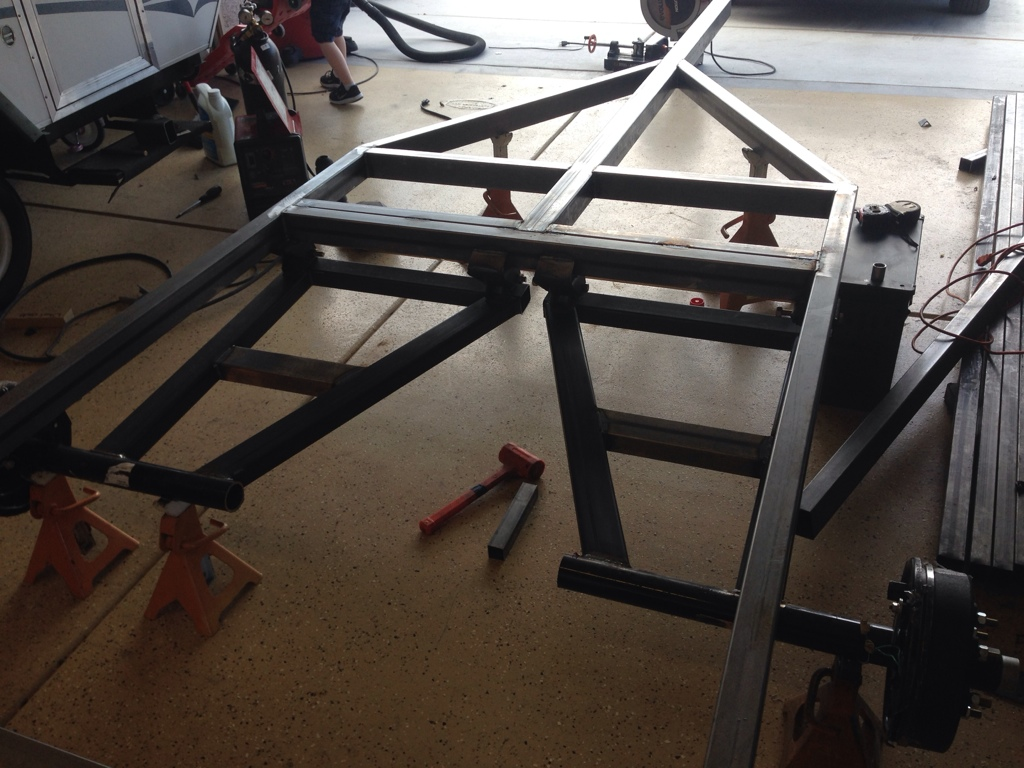 uav tt off road tent trailer build page 7 expedition portal