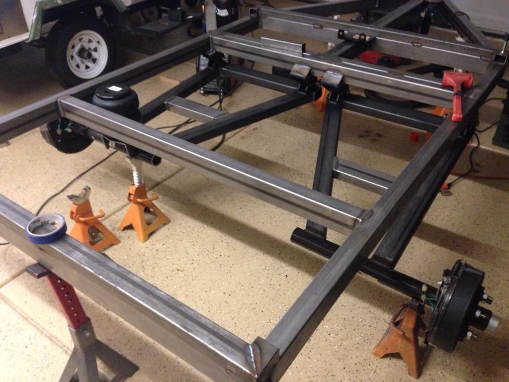 UAV TT (off road tent trailer) build