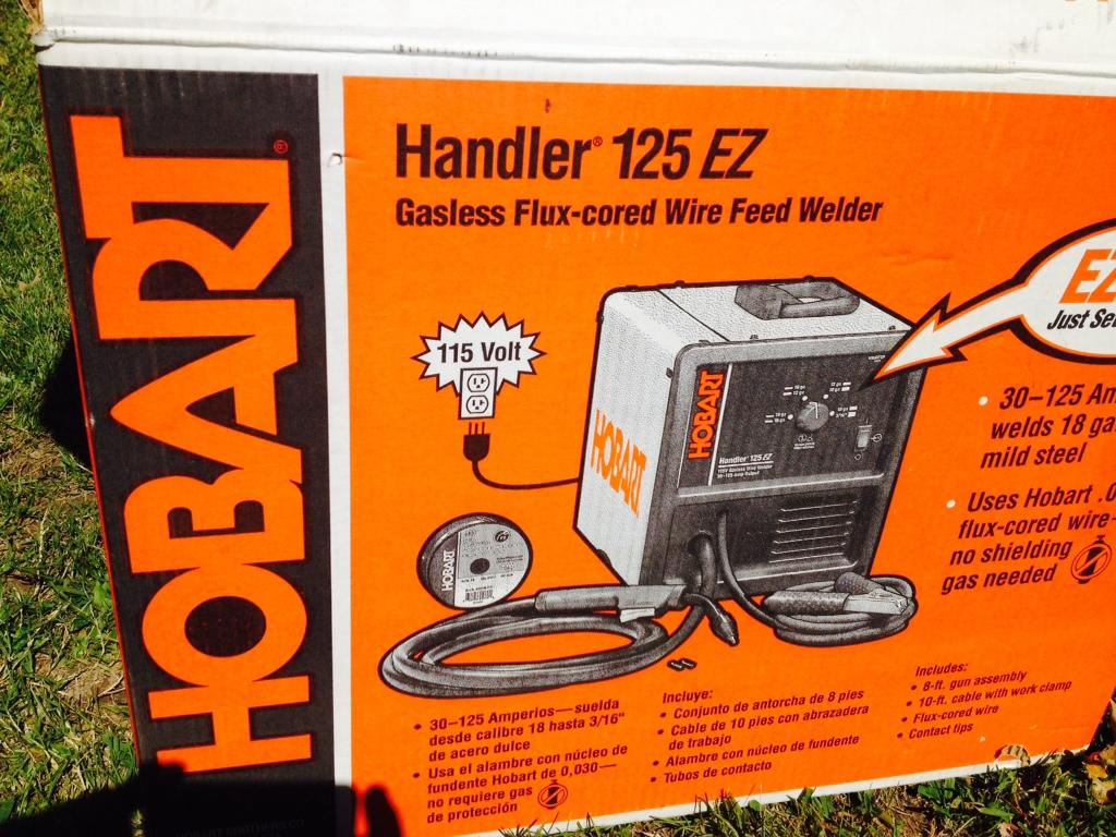 SOLD: Hobart Mig Welder/Handler 125 EZ