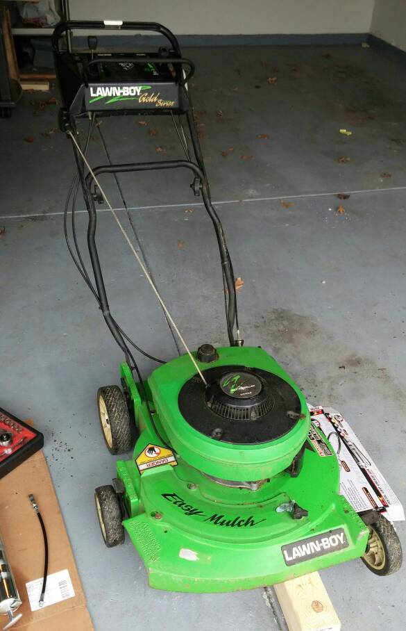 Push mower suggestions - The Garage Journal Board
