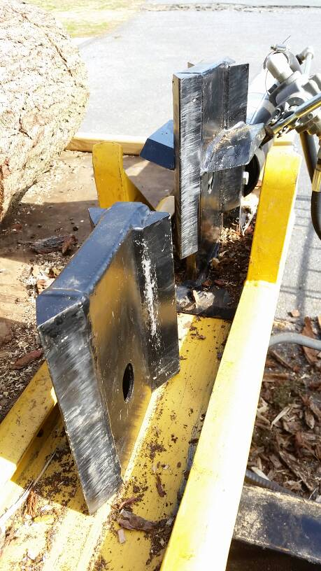 4 way split head for huskee/countryline | Arboristsite com