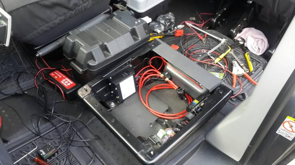 T5 Dual batteries