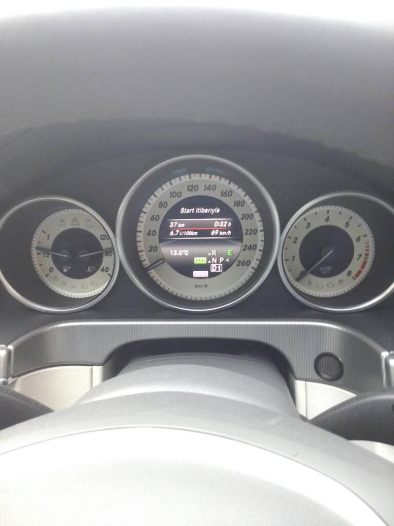 e180 yakıt tüketimi
