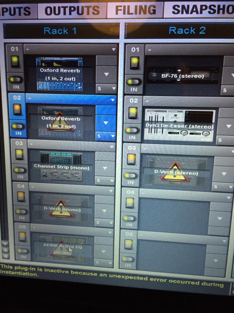 Plugin error S3L - Avid Pro Audio Community