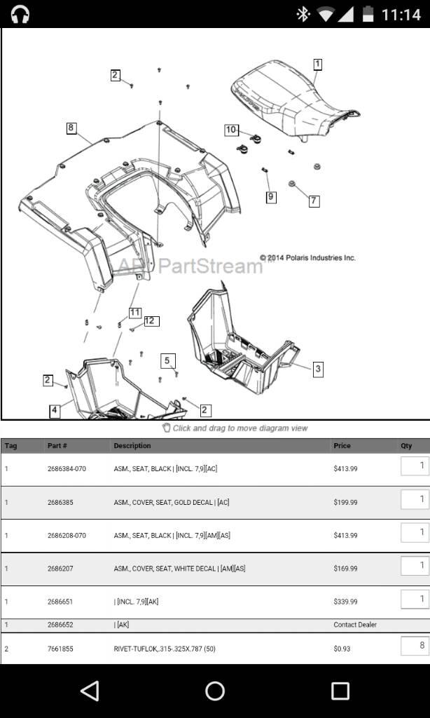 Polaris Sportsman 570 | CZ Chains | Page 61