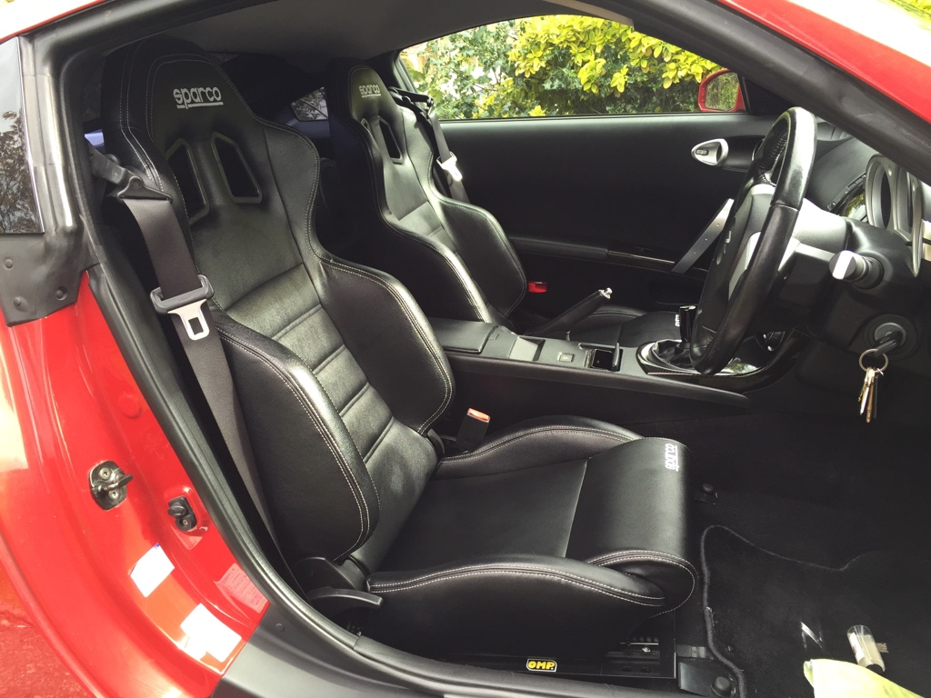 Finally after two years    New seats!!! - Interior - 350Z