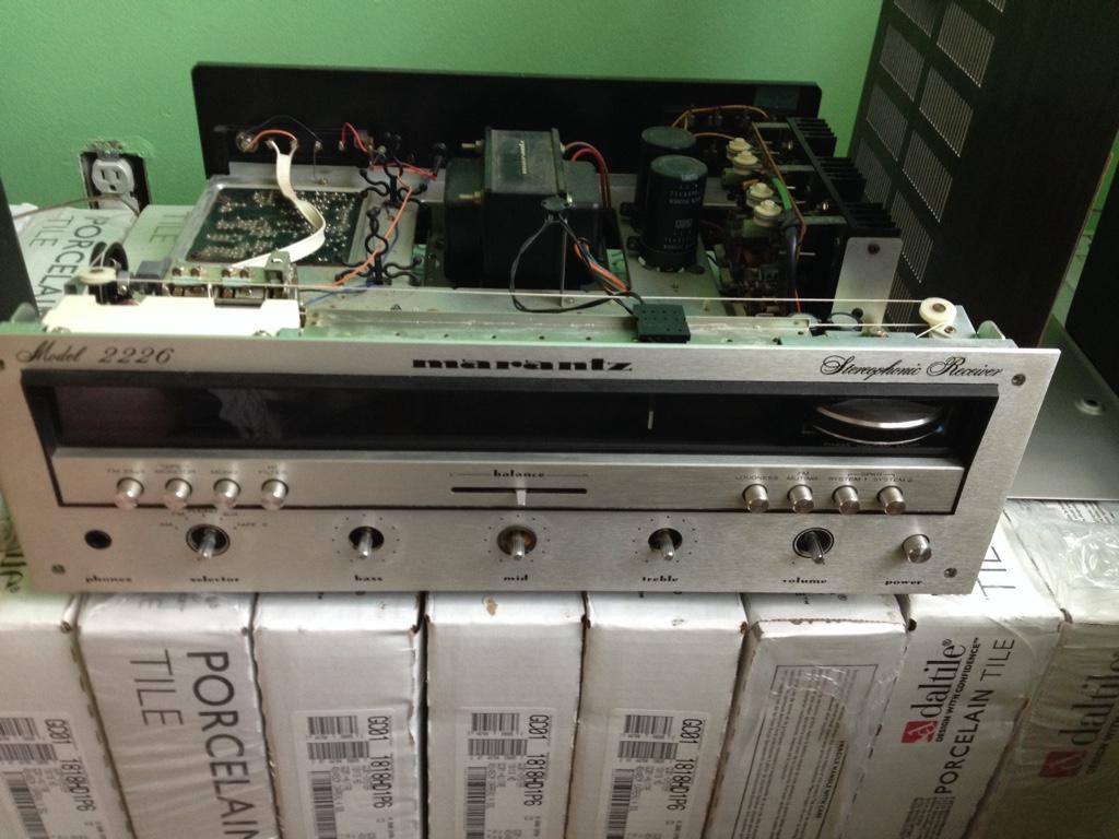 Marantz 2226 faceplate removal | Audiokarma Home Audio