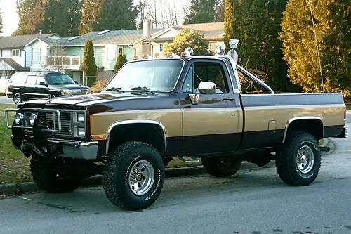 1986 chevy silverado 4x4