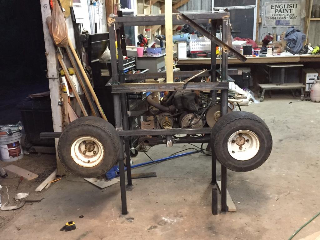 Predator 13 hp in g1 golf cart questions