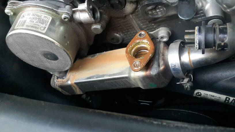 Bmw egr cooler leak
