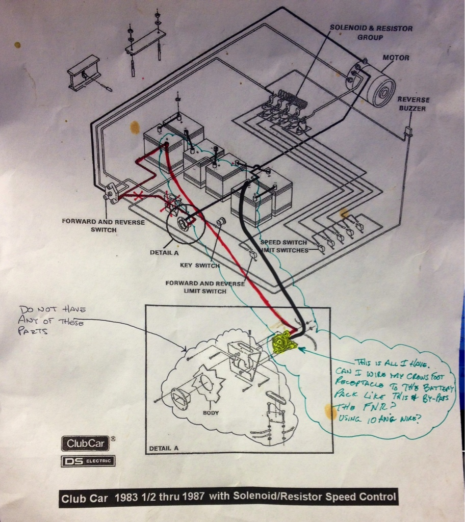 Club Car Battery Charger Wiring Diagram