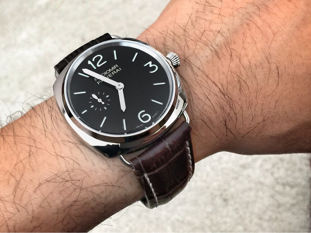 Pam 337 Small Radiomir For Small Wrists Panerai Rwg Replica